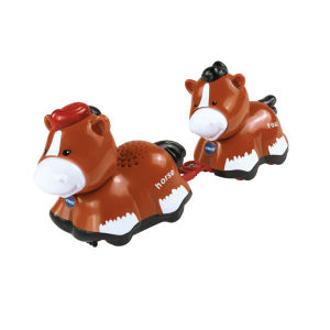 Vtech Toot-Toot Animals Mummy and Baby Horse