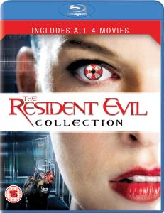 Resident Evil 1-4 Box Set