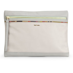 Paul Smith Accessories Women's Hero Leather Cross Body Bag - Grey