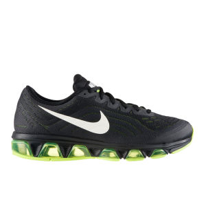 Nike Men's Air Max Tailwind 6 Running Shoes Running Shoes - Black/Volt Green