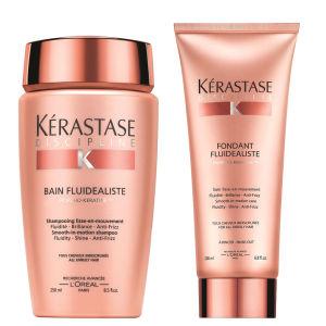 Kérastase Discipline Bain Fluidealiste (250ml) and Fondant Fluidealiste (200ml)