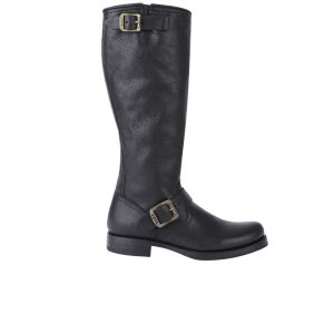 Frye Women's Veronica Slouch Leather Boots - Black