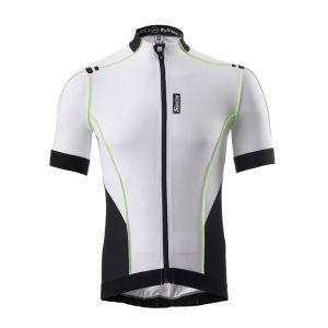 Santini Zero Impact Short Sleeve Jersey - White