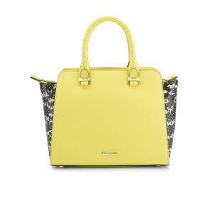 Rebecca Minkoff Women's Mini Avery Leather Winged Tote Bag - Yellow Multi