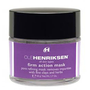 Ole Henriksen Firm Action Pore Refining Mask Masque affinant pores 50g
