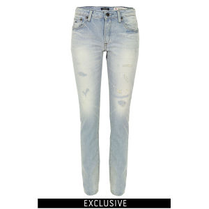 Denham Women's Elle OSS Slim Boyfriend Jeans - Light Wash