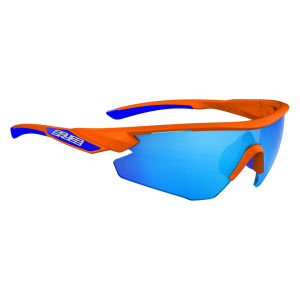 Salice 012 RW Sport Sunglasses - Orange/Blue
