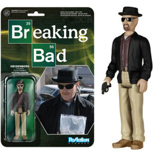 ReAction Breaking Bad Heisenberg 3 3/4 Inch Action Figure