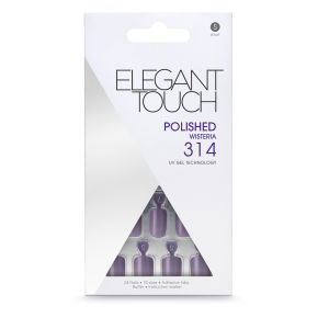 Elegant Touch Polished Nails - Wisteria