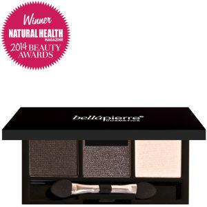 Bellápierre Cosmetics 3 Eyeshadows Palette Smokey Bowtie