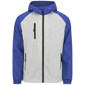 55 Soul Men's Shooter Jacket - White/Cobalt/Navy