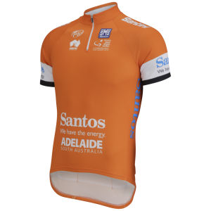 Santini Men's Tour Down Under Leader 2014 Short Sleeve Jersey - Orange