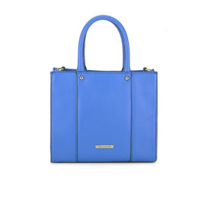 Rebecca Minkoff Women's Mini Mac Leather Tote Bag - Bright Blue