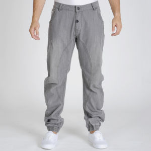55 Soul Men's Damage Jeans - Grey