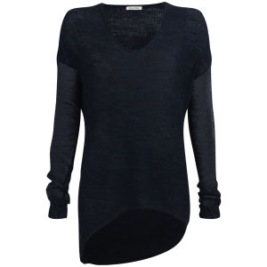 American Vintage Women's Lakeway Jumper - Blue-Black
