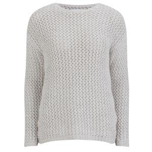 Samsoe & Samsoe Women's Chub Knit - Silver/Grey