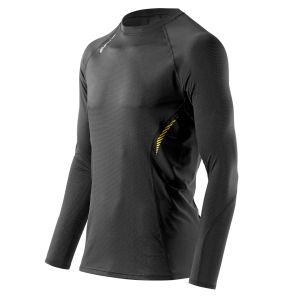 Skins Men's 360 Long Sleeve Tech Top - Black