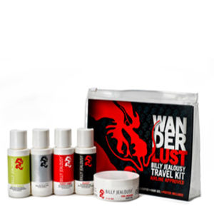 Billy Jealousy Men's WANDERLUST Travel Kit