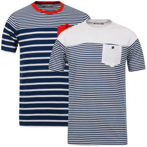 Tom Frank Men's 2-Pack T-Shirt - Navy