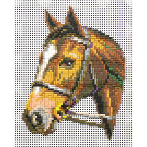 Mostaix Red Ribbon Series Mosaic - Horse