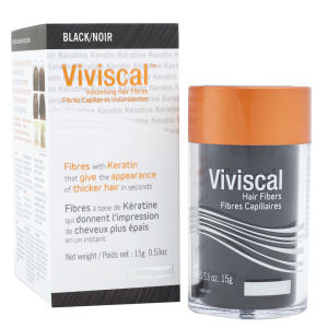 Viviscal Volumising Hair Fibres - Black (15g)