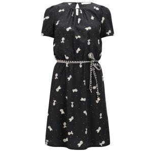 Sessun Women's Abacaxi Dress - Victoria Black