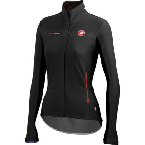 Castelli Women's Gabba Long Sleeve Jersey - Black