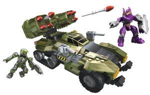 Mega Bloks - Halo Wars UNSC Wolverine (Green)