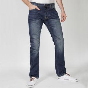 Brave Soul Männer Swansea Jeans - Denim