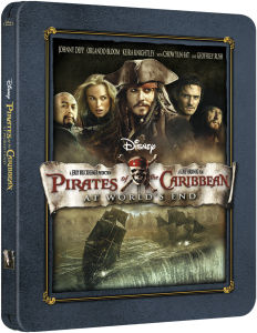 Pirates of the Caribbean: Am Ende der Welt - Zavvi exklusives Limited Edition Steelbook (nur 3000 Exemplare)