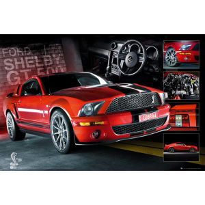 Easton Red Mustang GT500 - Maxi Poster - 61 x 91.5cm