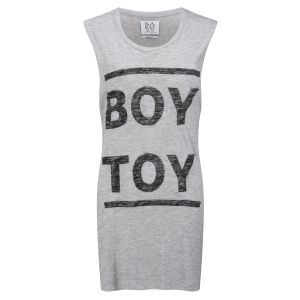 Zoe Karssen Women's Boy Toy Tank Top - Grey