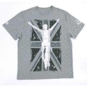 Tour De France UK Graphic T-Shirt - Grey