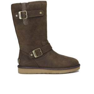 UGG Women's Sutter Waterproof Leather Buckle Boots - Toast
