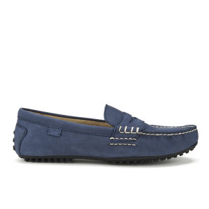 Polo Ralph Lauren Men's Wes Suede Driver Shoes - Newport Navy