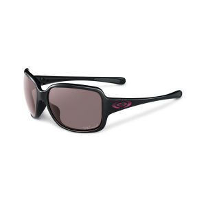 Oakley Women's Break Point Polished Sunglasses - Black