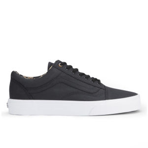 Vans Men's California Old Skool Reissue Coated Twill Trainers - Black
