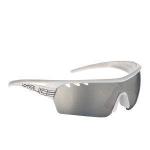 Salice 006 CRX Sports Sunglasses - Photochromic - White/CRX Smoke