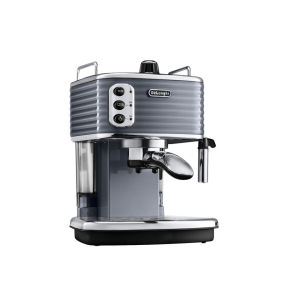 De'Longhi Scultura Espresso Coffee Machine - Gun Metal High Gloss