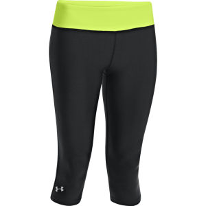 Under Armour Women's Sonic Capri Tights - Black/X-Ray