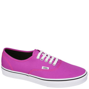 Vans Authentic Neon Trainers - Purple/True White