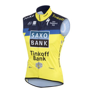 Saxo Bank Tinkoff Bank Team Wind Vest Gilet - 2013