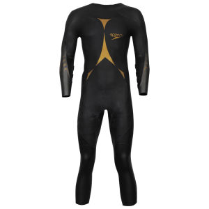 Speedo Men's Triathlon Pro Wetsuit - Black/Gold
