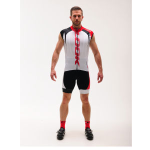 Look Pro Team Sleeveless Jersey - White/Red