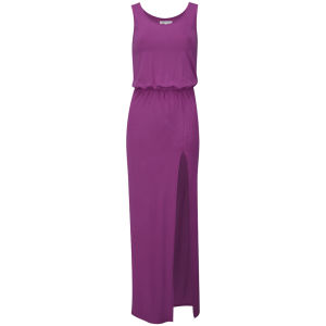 Glamorous Women's Split Maxi Dress - Pink