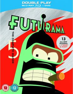 Futurama - Season 5: Limited Edition (Blu-Ray, DVD, T-Shirt and Script)