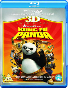 Kung Fu Panda 3D (3D Blu-Ray, 2D Blu-Ray and DVD)