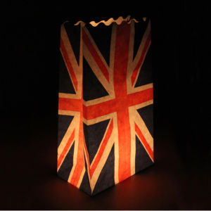 Candle Bags 5 Pack - Union Jack