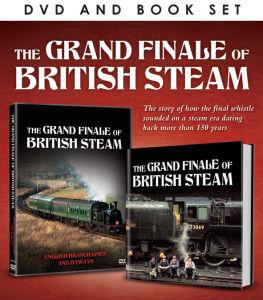 Grand Finale of British Steam (Includes Book)