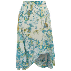 Vivienne Westwood Anglomania Women's Aztec Skirt - Turquoise